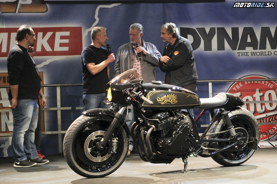 Best roadster - Custombike Show Bad Salzuflen 2015