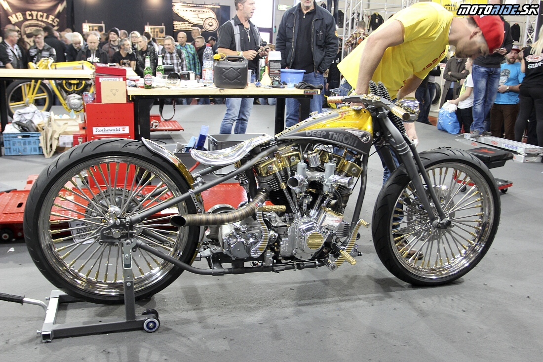Mullerovci a ich bike - European Biker Build-Off - Custombike Show Bad Salzuflen 2015