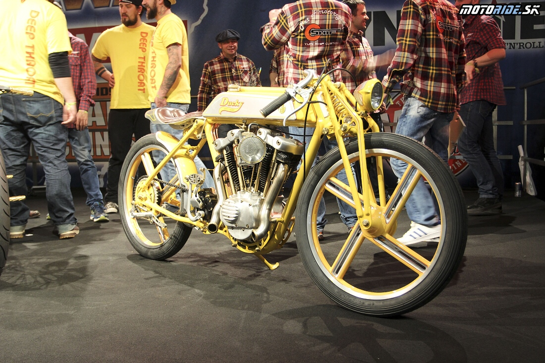 Bike teamu Yuriho Shifa - European Biker Build-Off - Custombike Show Bad Salzuflen 2015