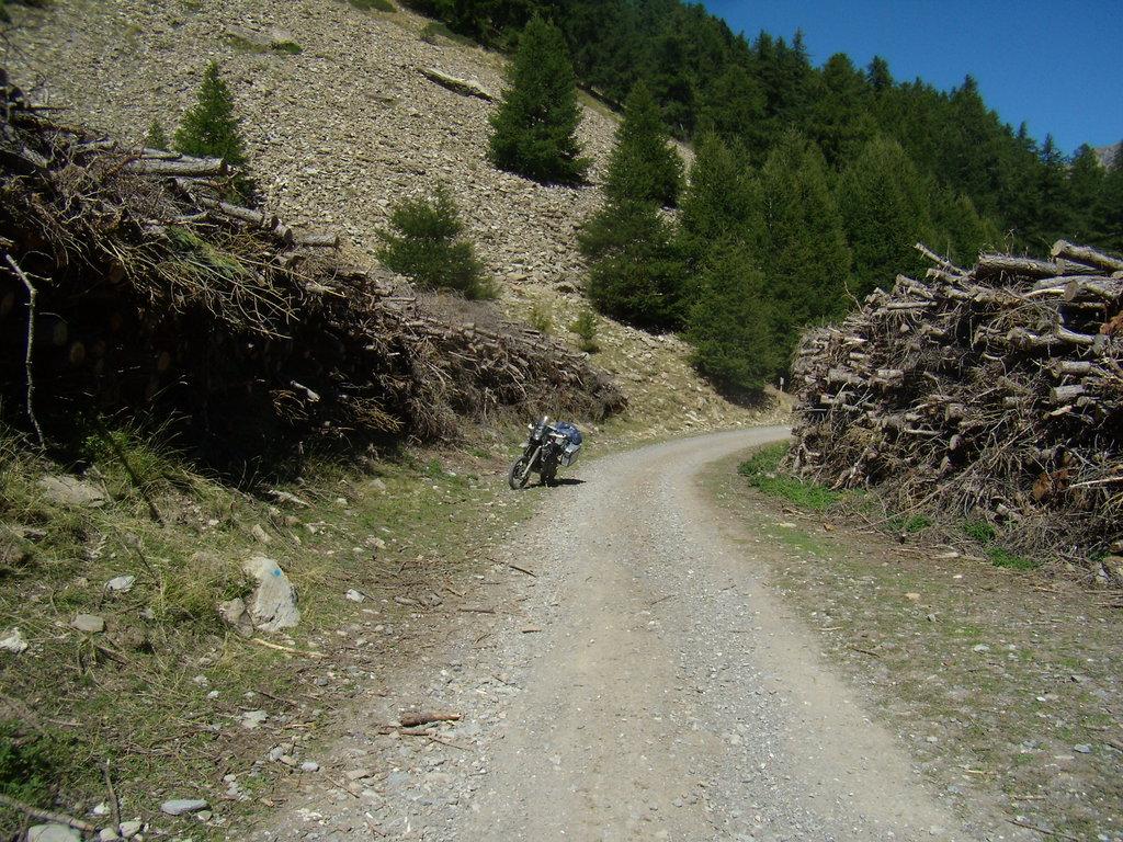 v stúpaní na Col de la Valbelle