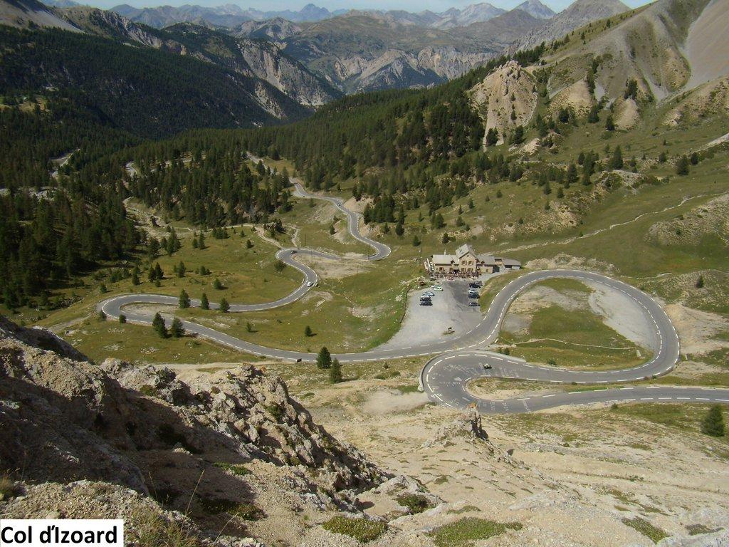 Col d'Izoard severná strana