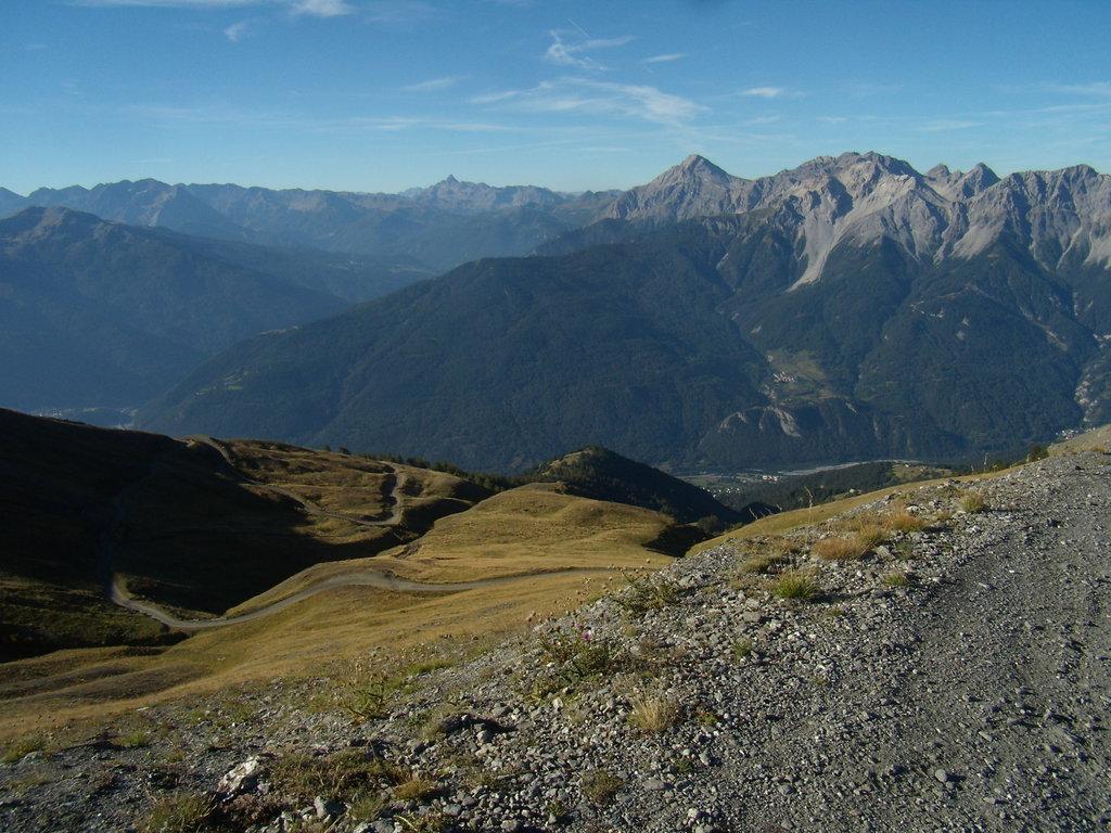 výjazd na Monte Jafferau