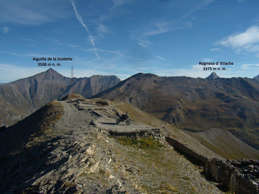 výhľad Monte Jafferau