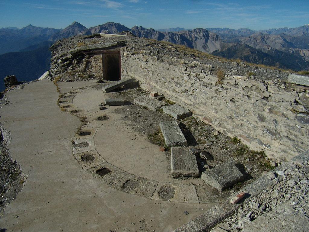 pevnosť Jafferau