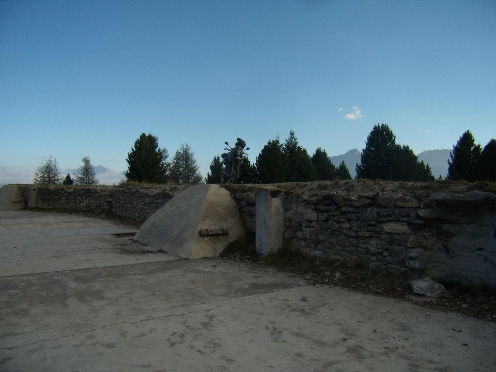 celú pevnosť mám len pre seba - Forte Föens, Taliansko