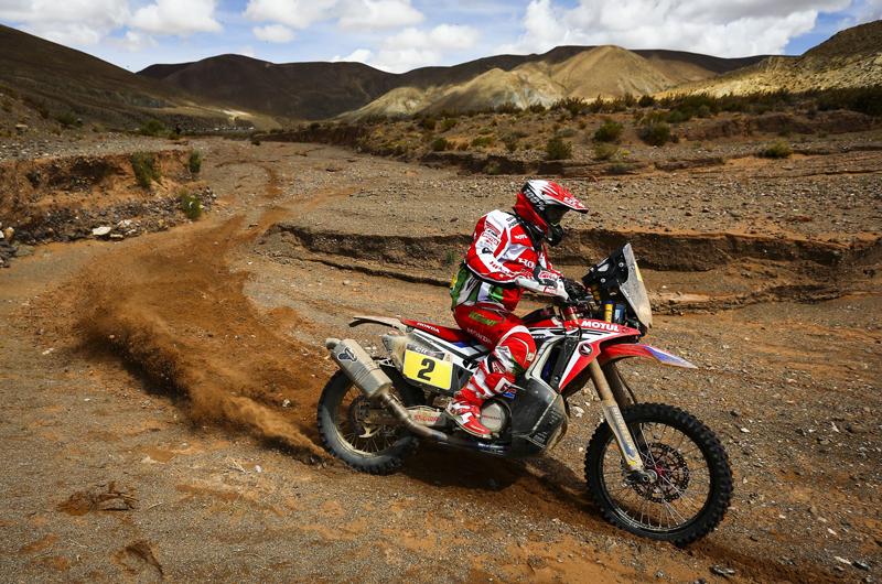 Dakar 2016 - 4. etapa - 02 GONCALVES Paulo (por) HONDA