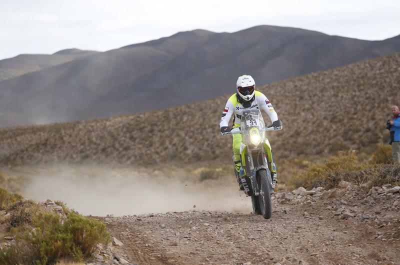 Dakar 2016 - 4. etapa - 31 KLYMCIW ONDREJ (cze) HUSQVARNA