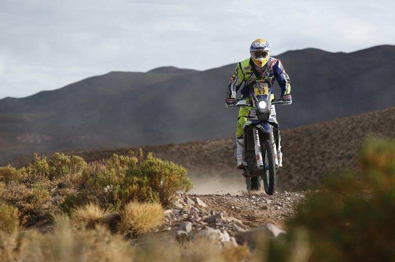 Dakar 2016 - 4. etapa - 17 PEDRERO GARCIA Juan (spa) SHERCO TVS