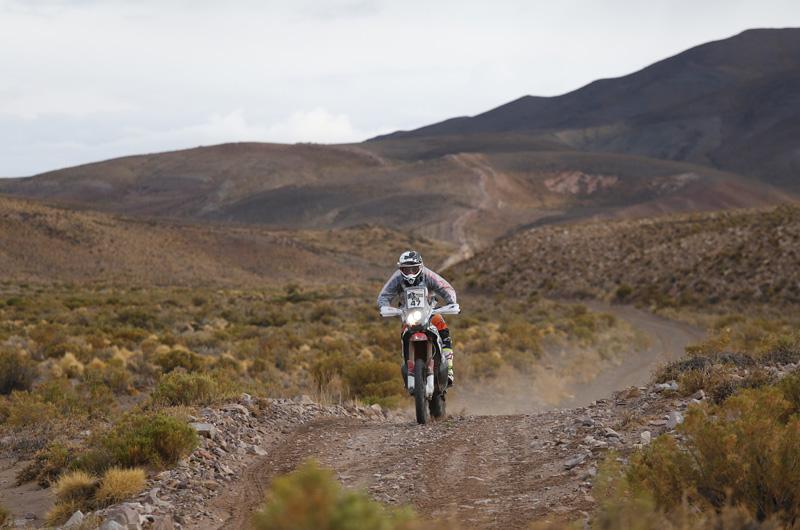 Dakar 2016 - 4. etapa - 47 BENAVIDES Kevin (arg) HONDA