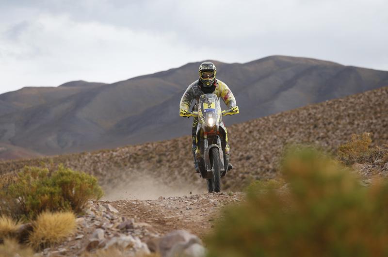 Dakar 2016 - 4. etapa - 05 Štefan Svitko (SVK) KTM