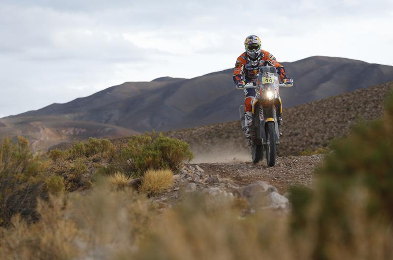 Dakar 2016 - 4. etapa - 14 WALKNER Matthias AUT KTM