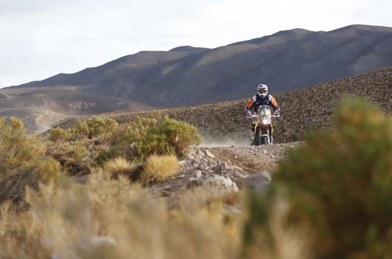 Dakar 2016 - 4. etapa - 03 PRICE Toby (aus) KTM