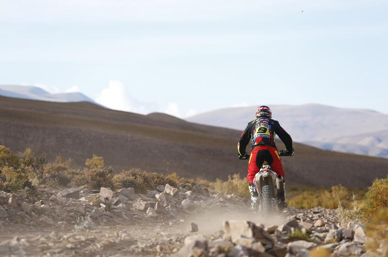 Dakar 2016 - 4. etapa - 09 CASTEU David (fra) KTM