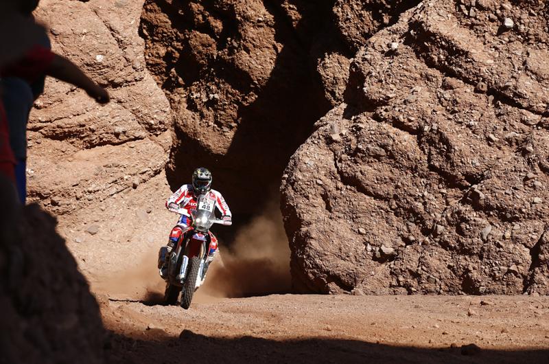 Dakar 2016 - 8. etapa - 48 BRABEC RICKY (usa) HONDA