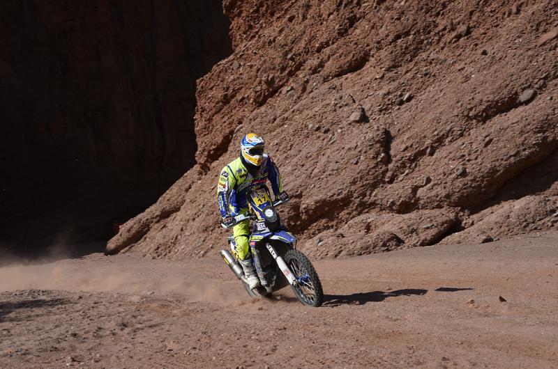 Dakar 2016 - 8. etapa - 17 PEDRERO GARCIA Juan (spa) SHERCO TVS