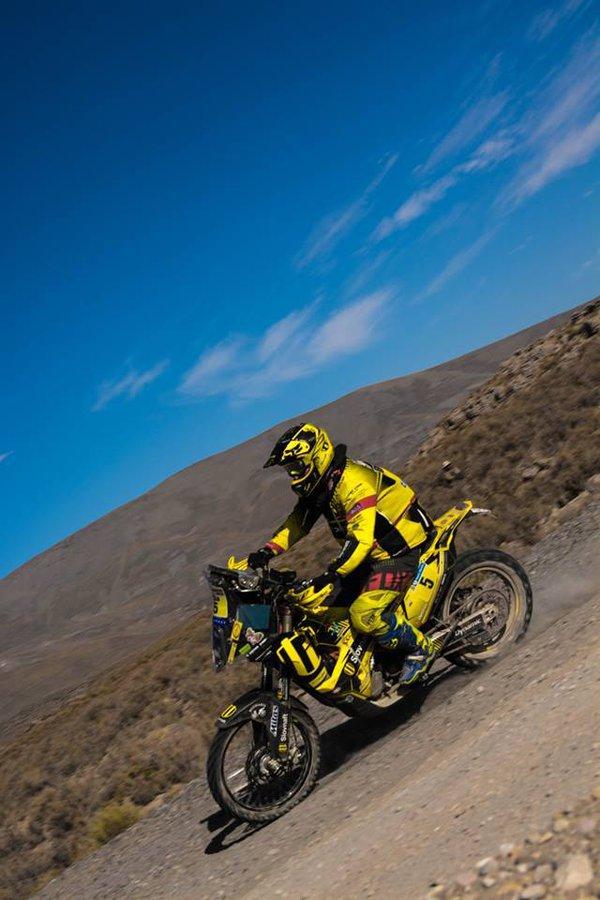 Dakar 2016 - 8. etapa - Štefan Svitko