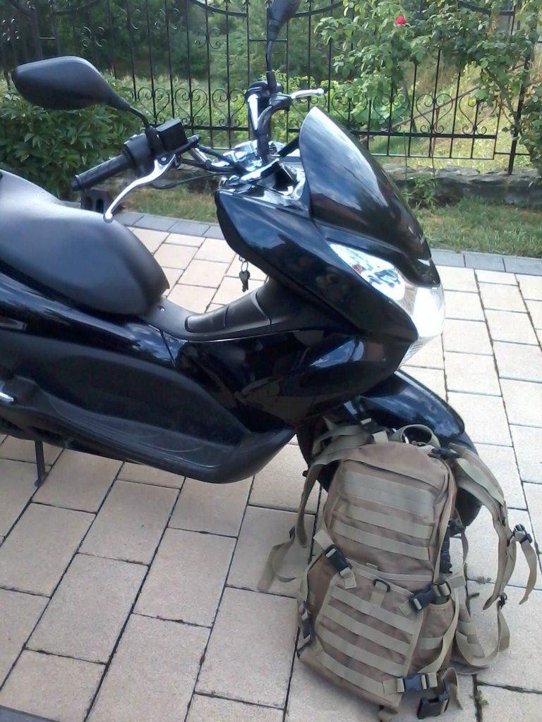 Moja Honda PCX 125