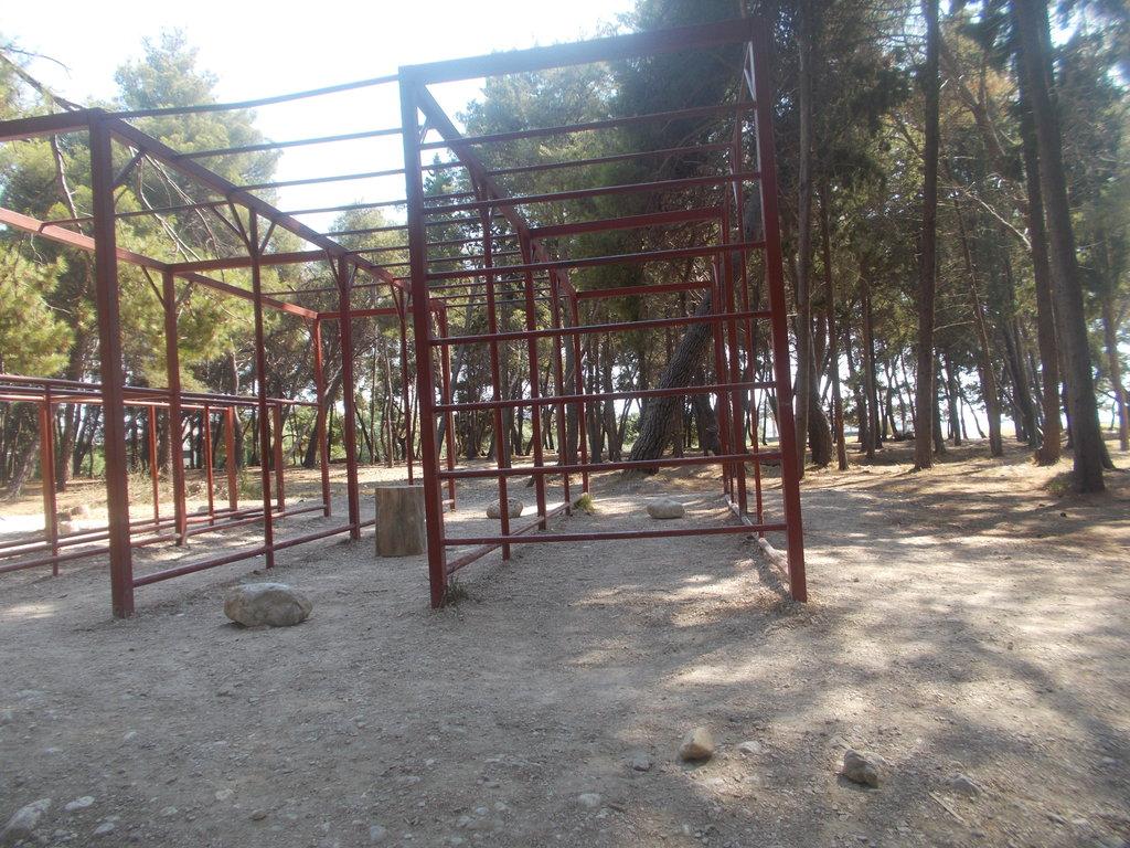 Workout park v meste Bar