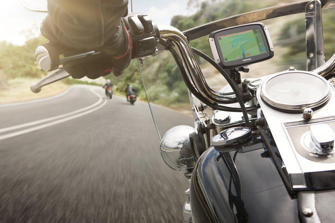 TomTom RIDER 40 - gps navigácia pre motorkárov