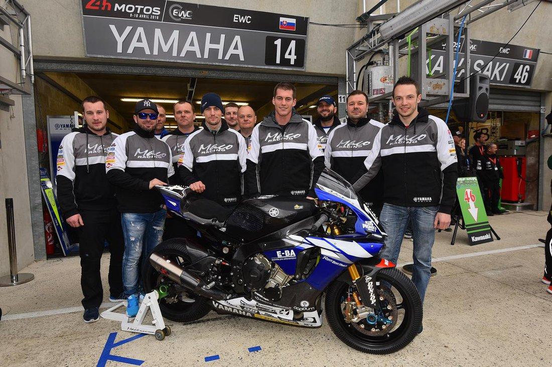Le mas 2016 -  Yamaha Maco Racing Team