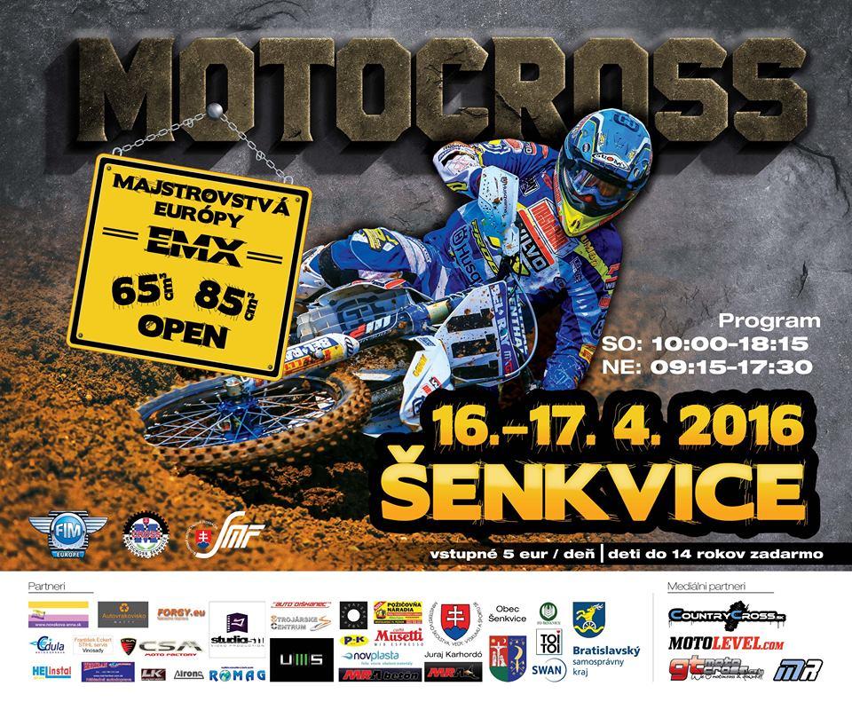Majstrovstvá Európy EMX65/85, EMX Open 2016, Šenkvice