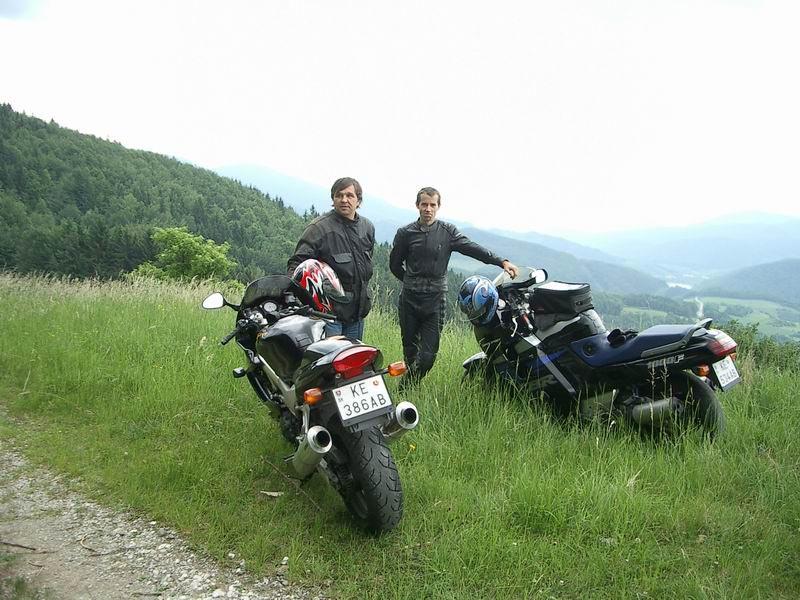 Bedo a Awia na Dobšinskom kopci...