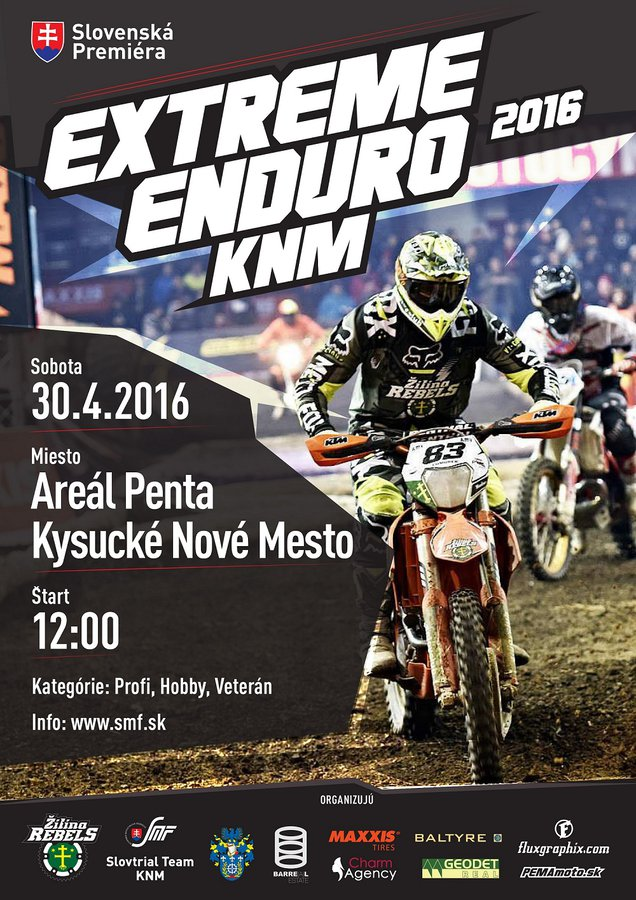 EXTREM ENDURO, Kysucké Nové Mesto, 30.4.2016