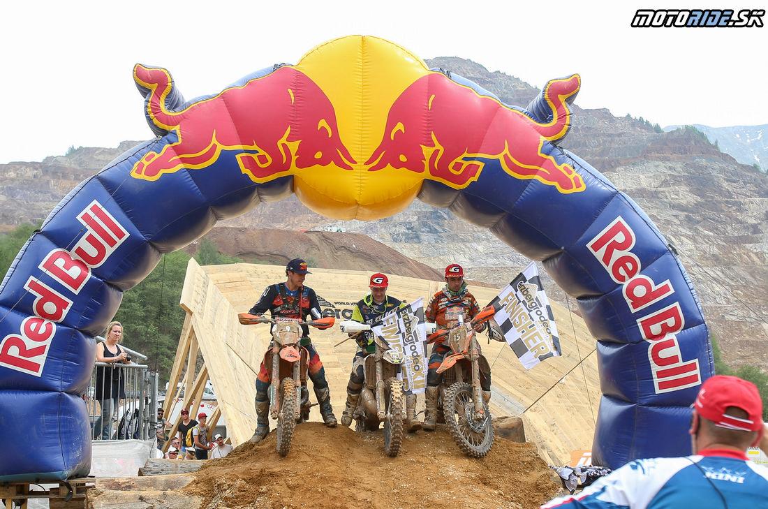 1. Graham Jarvis (Husqvarna) 2. Cody Webb (KTM) 3. Alfredo Gomez (KTM) - Erzbergrodeo 2016 - Red Bull Hare Scramble
