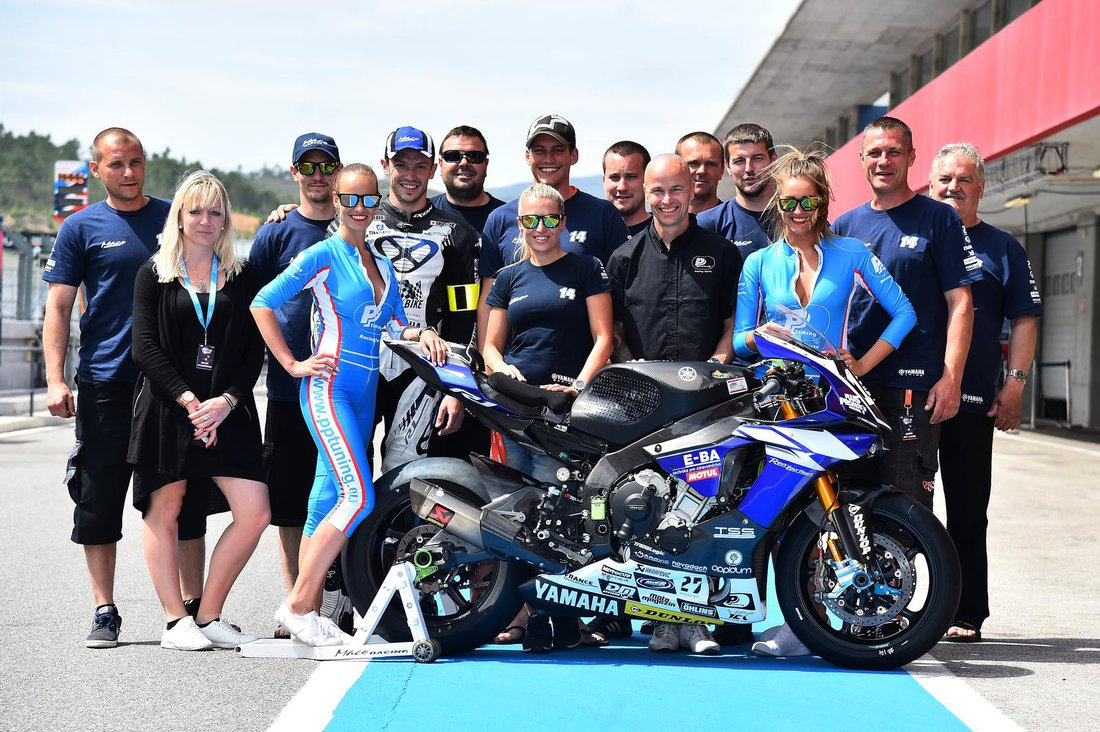 Yamaha Maco Racing Team na 12h endurance v Portimau 2016