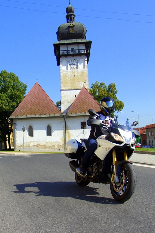 Motorky na slovenských cestách - inšpirácia