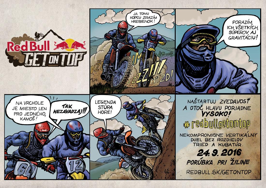 Registrácia na Red Bull Get on Top 2016 je spustená