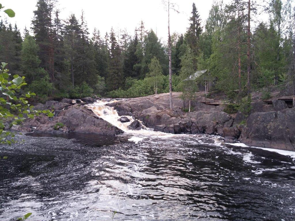 Ruskealský vodopád, Rusko - Bod záujmu