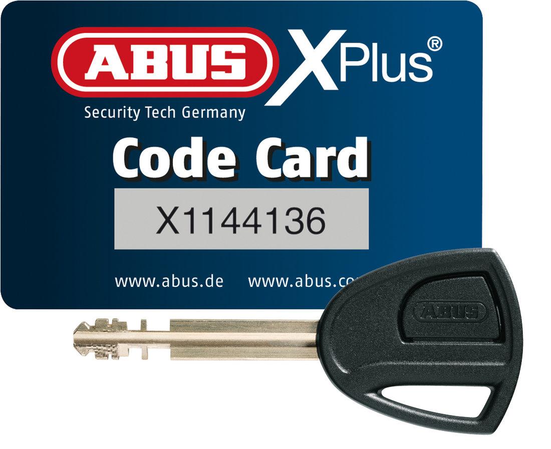 Zámok ABUS Granit Detecto X Plus 8008 - X-plus karta