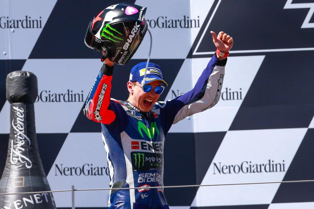 Jorge Lorenzo - MotoGP 2016 - VC Rakúska