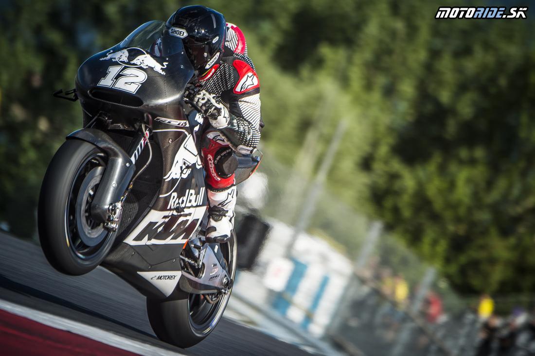 Tom Luethi KTM RC16 Spielberg 2016