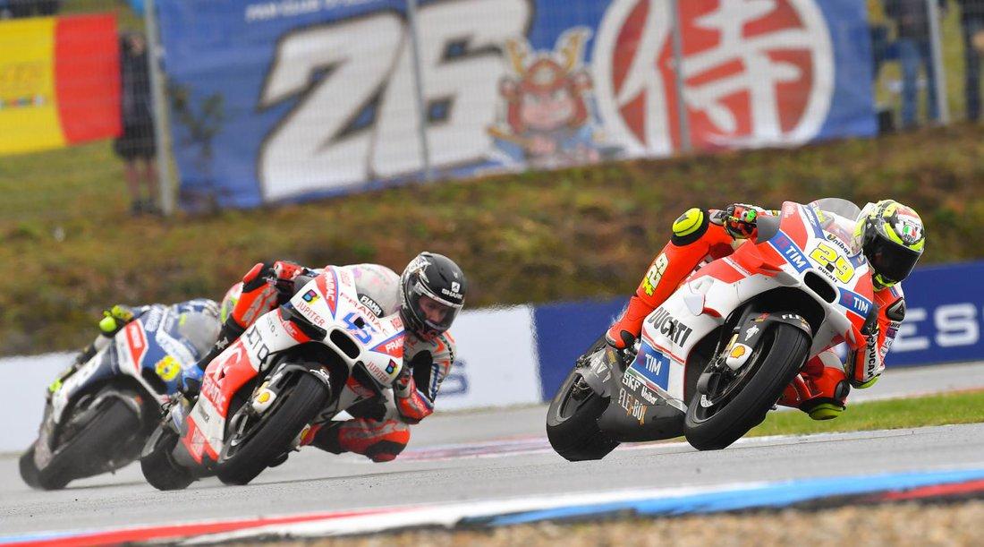 Andrea Iannone - MotoGP 2016 - VC Českej republiky