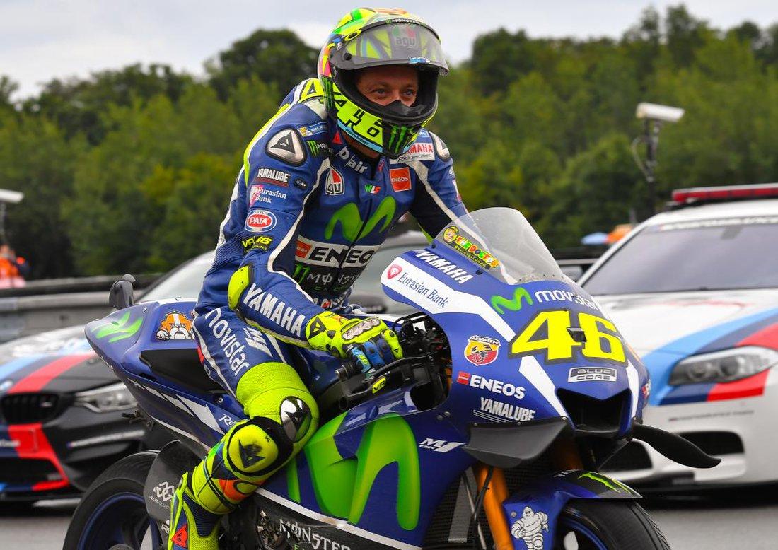 Valentino Rossi - MotoGP 2016 - VC Českej republiky