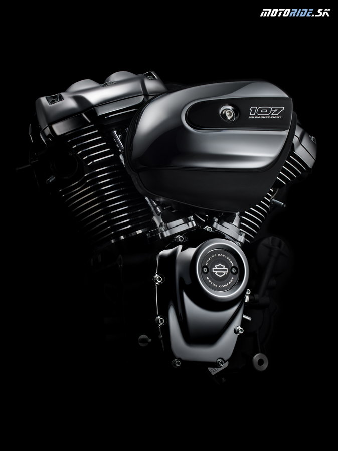Nový motor Harley-Davidson Milwaukee-Eight 107 - 2017