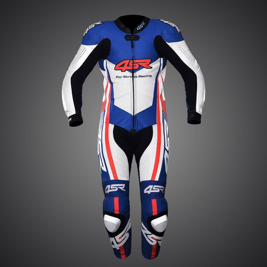 4SR kožená moto kombinéza racing replica Le Mans limitovaná edícia