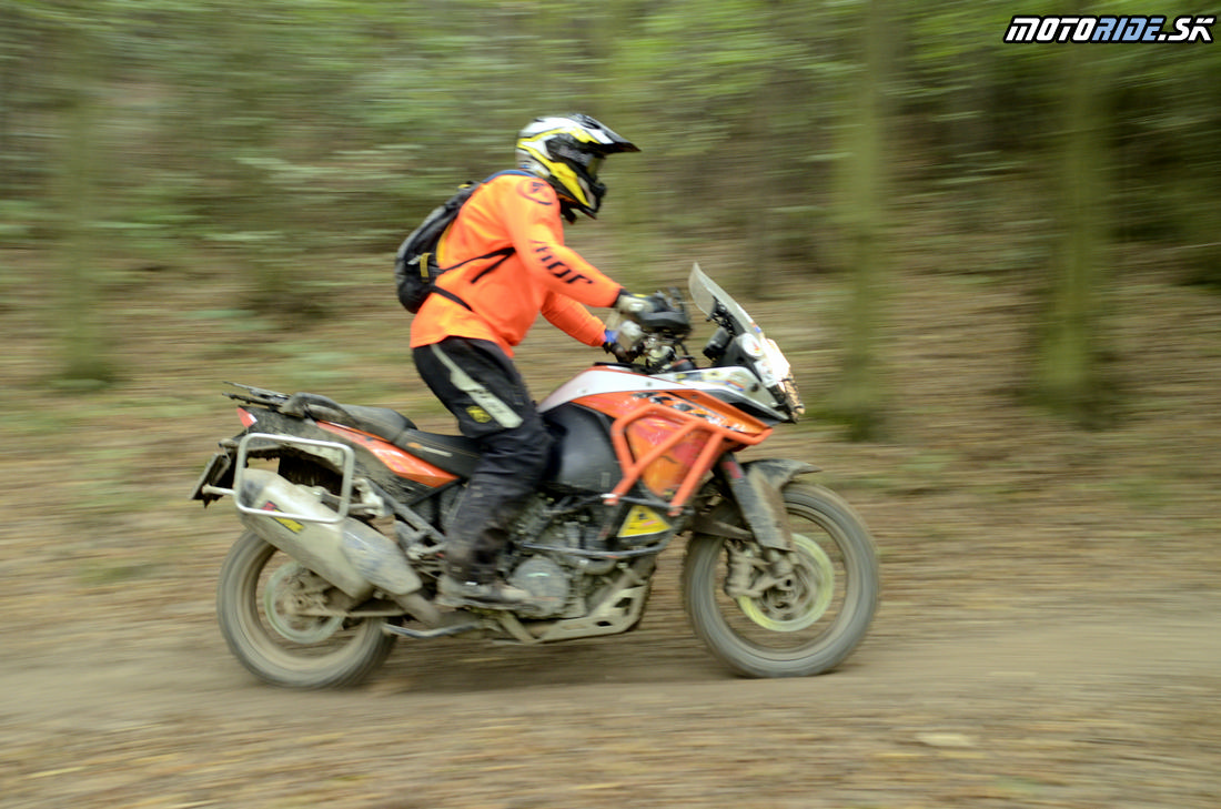 Motoride XL enduro Rally 2016, Tuhrina