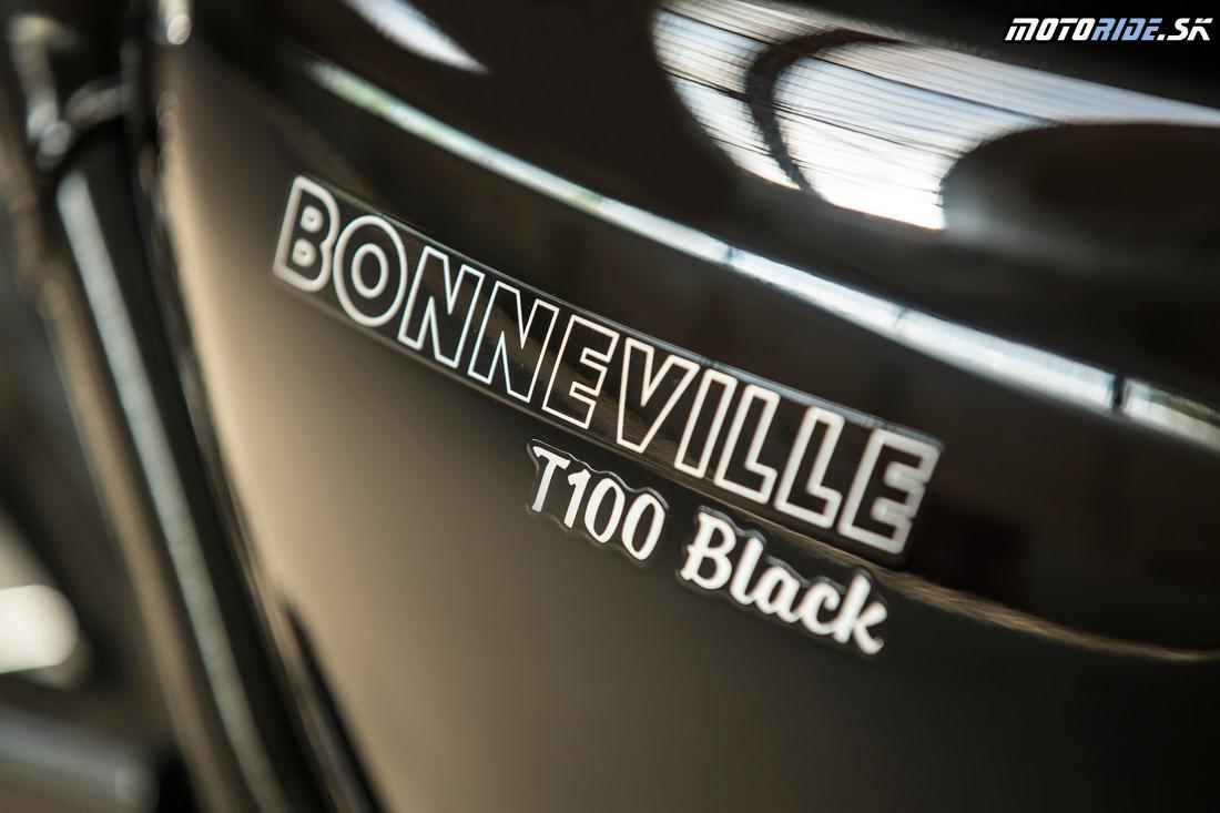 Triumph Bonneville T100 Black 2017