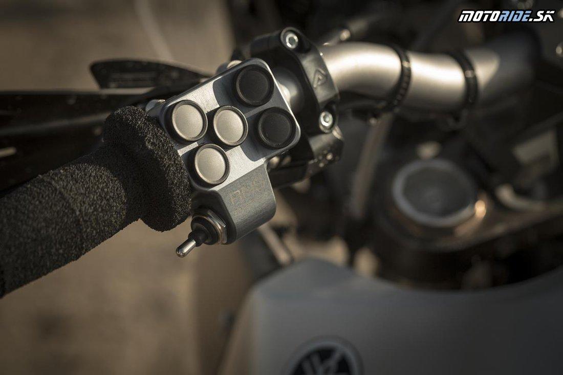 EICMA 2017 - Yamaha, koncept endura T7