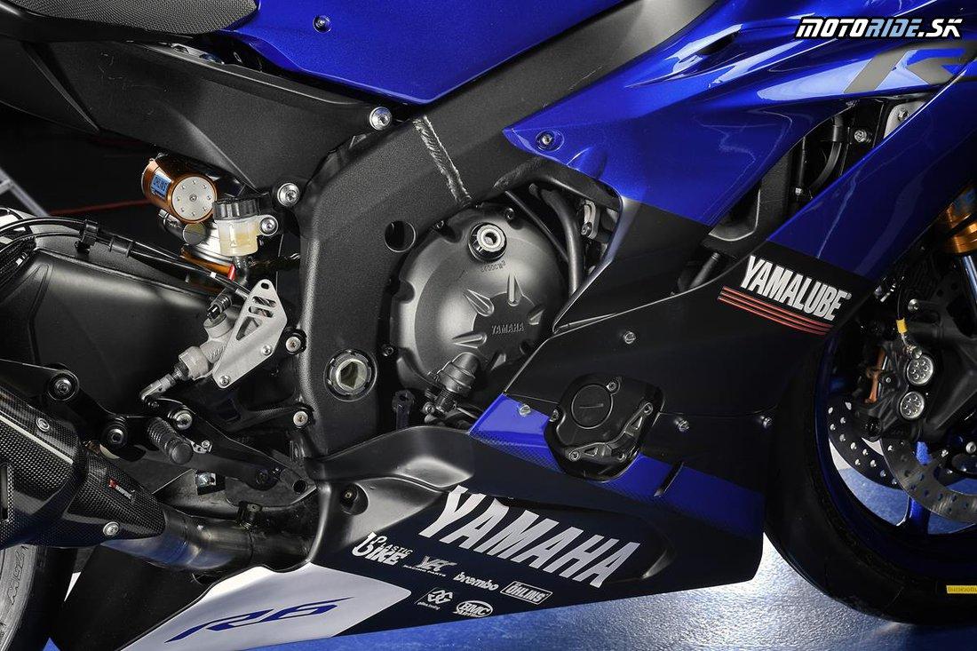 EICMA 2017 - Yamaha YZF-R6 Race Ready