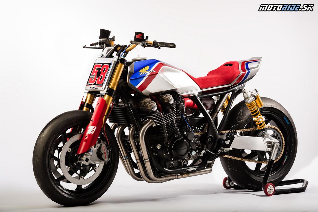 Honda CB1100TR Concept - štúdia EICMA 2016