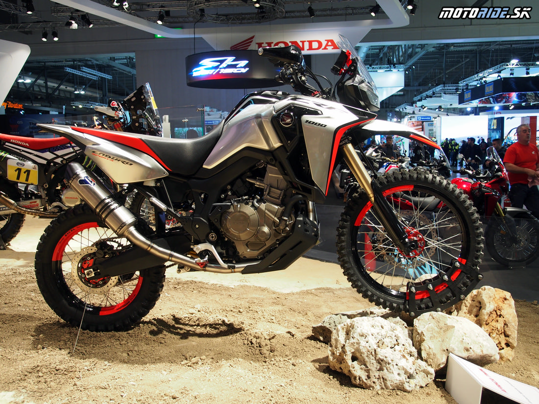 Honda Africa Twin Enduro Sports concept  - Výstava EICMA Miláno 2016