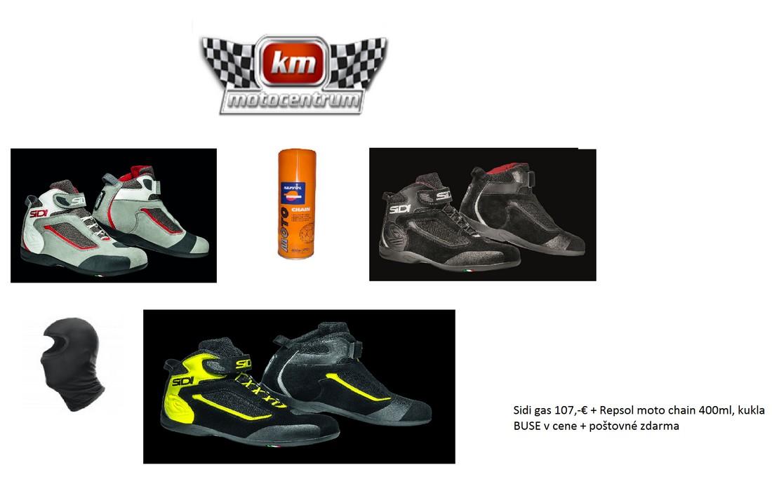 Topánky Sidi GAS s darčekmi a poštovným zdarma od Motocentrum KM Svit