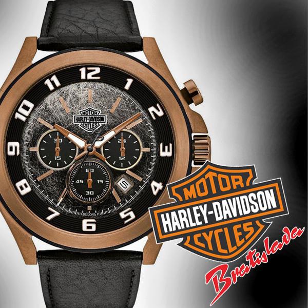 Darček od Harley-Davidson Bratislava - hodinky