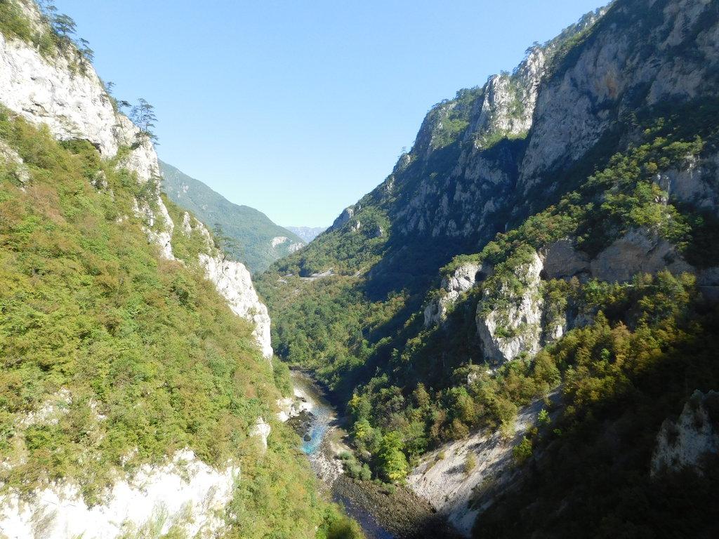 kaňon rieky Piva