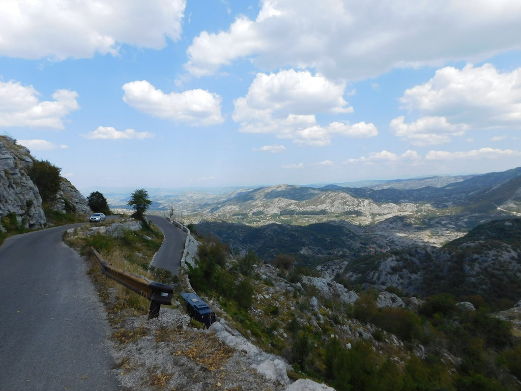 kľukatica do Cetinje