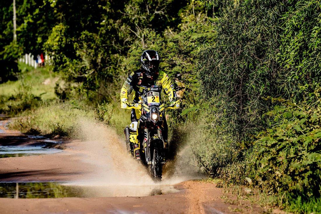 Štefan Svitko - 1. etapa - Dakar 2017